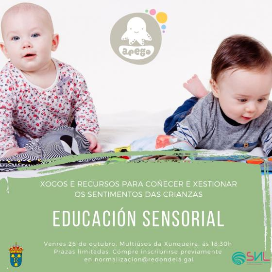 Educación sensorial coa túa crianza