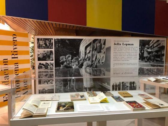 Exposición no Multiúsos da Xunqueira. Unha ponte de libros infantís. Jella Lepman