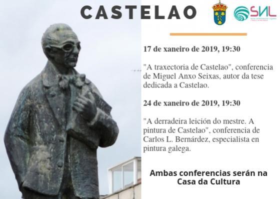 O Departamento de Normalización Lingüística organiza dúas conferencias sobre Castelao