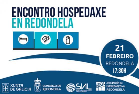 Encontro de hospedaxe en Redondela
