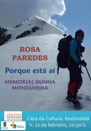 Conferencia de la montañera Rosa Paredes