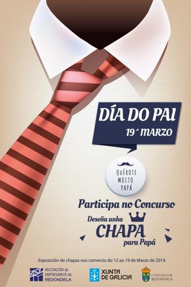 """Concurso """"Diseña una chapa para papá"""""""