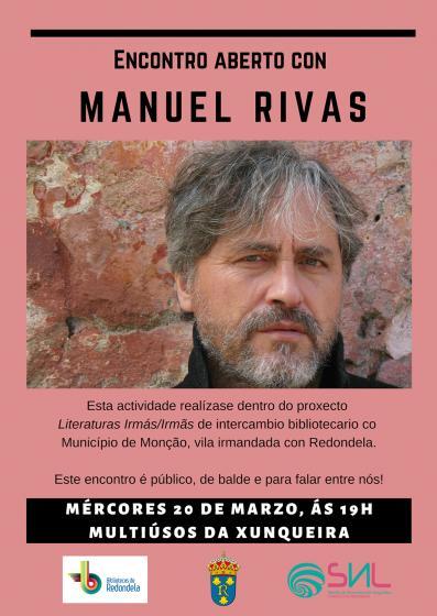 Encuentro público con Manuel Rivas