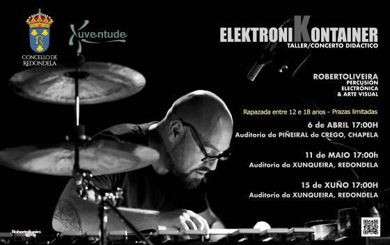 Juventud organiza tres conciertos-talleres de percusión