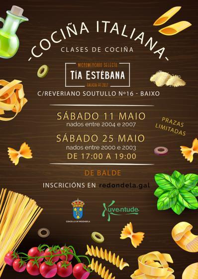 Clases de Cociña Italiana