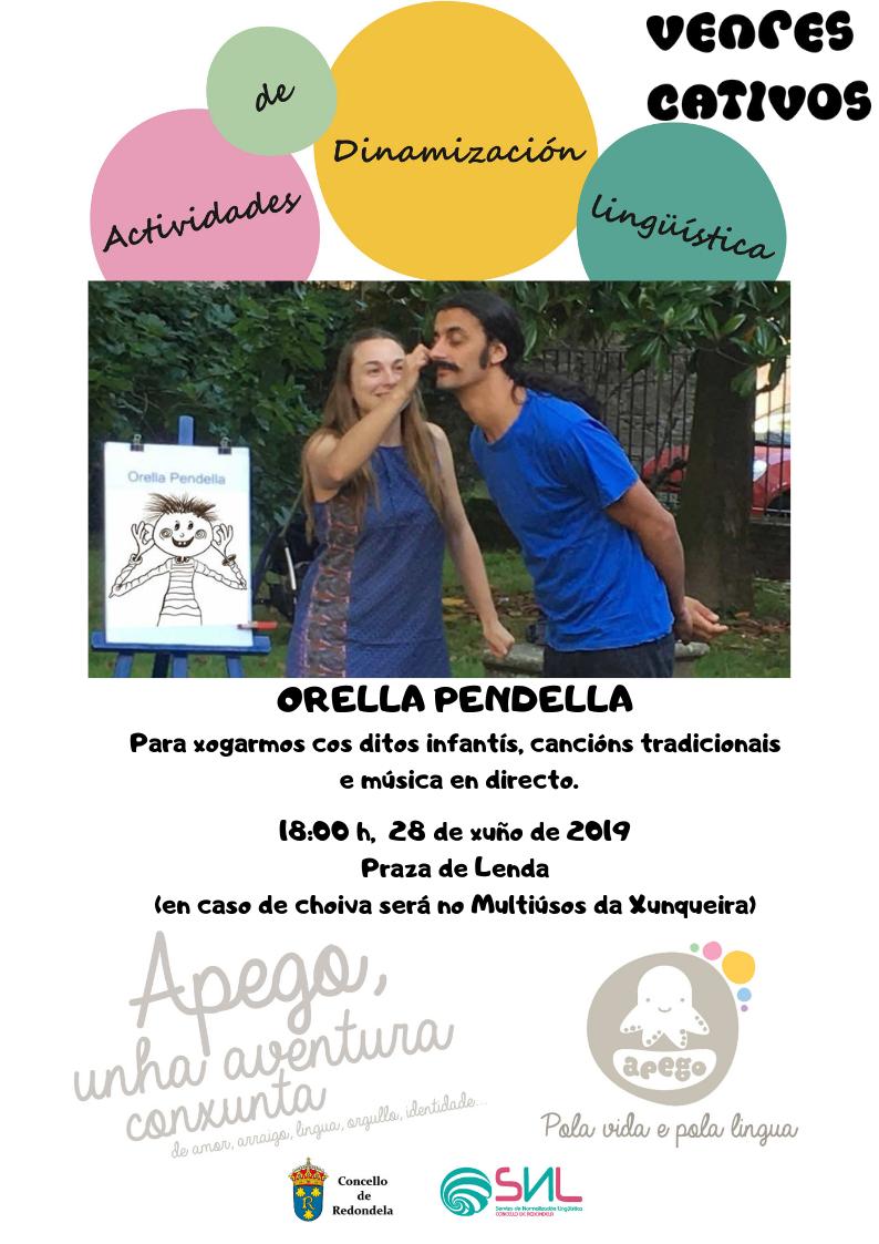 Nova Actividade: Orella Pendella