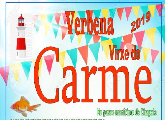Chapela celebra la verbena de la Virgen del Carmen