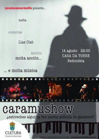 CARAMUXO VERMELLO, música y teatro en la Casa da Torre