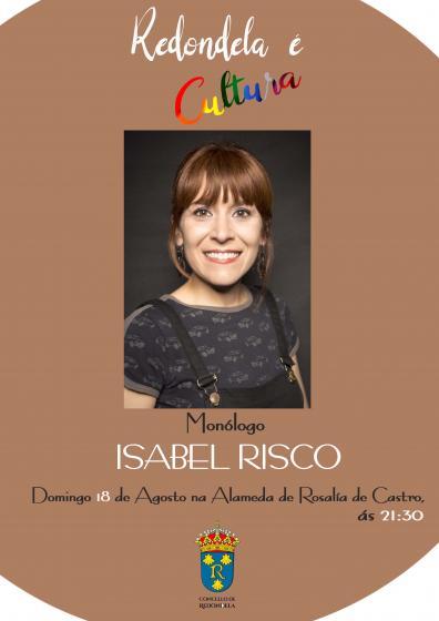 ISABEL RISCO, Monólogo na Alameda Rosalía de Castro