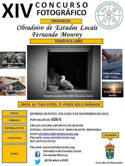 XIV Concurso Fotográfico do Obradoiro de Estudos Locais Fernando Monroy