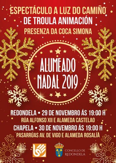 O Goberno de Redondela dará comenzó ao acendido de Nadal este fin de semana