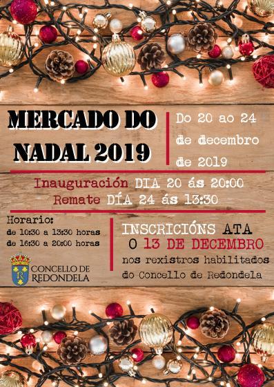 Mercado de Navidad 2019