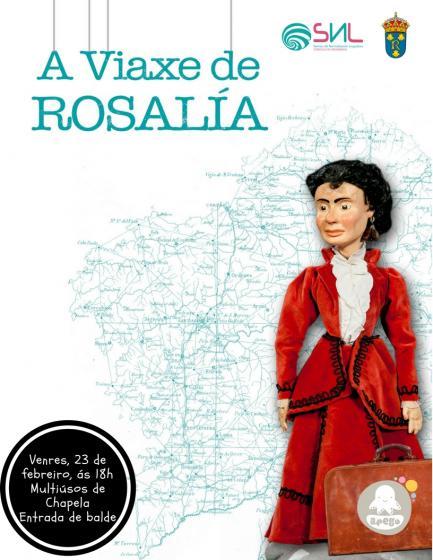 Teatro infantil: A viaxe de Rosalía
