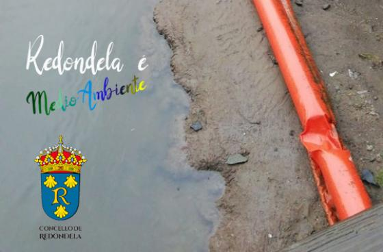 Retirada de barreira do río Alvedosa