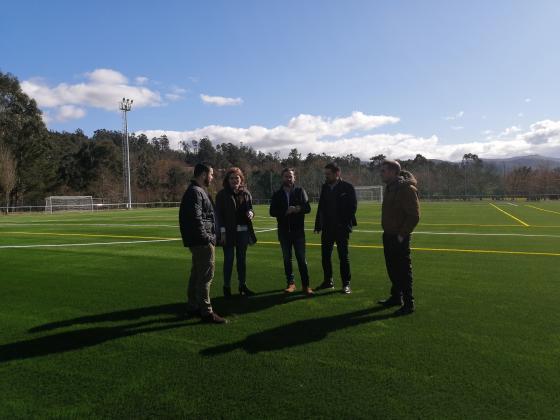 El Campo de fútbol da Gándara se inagurará en la próxima temporada