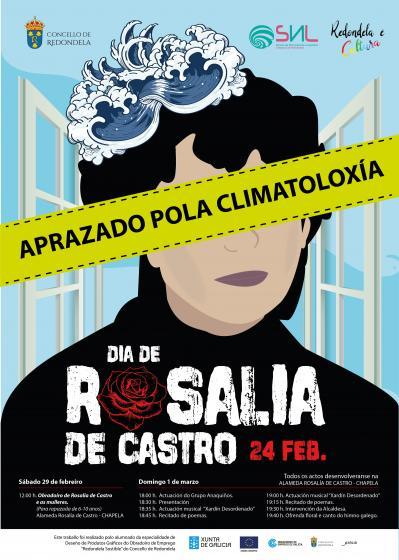 Redondela celebra o Día Rosalía de Castro o 6 de marzo