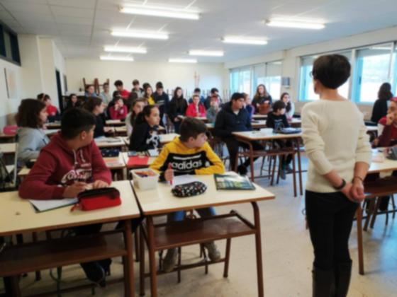 O Alumnado do IES Illa de San Simón de Redondela clasifícase para a final do Clube de debate