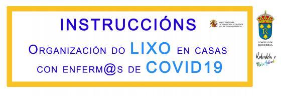 Instruccións para a xestión de residuos domésticos e COVI-19