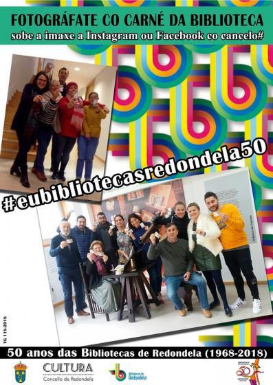 Las Bibliotecas de Redondela celebran su 50 aniversario