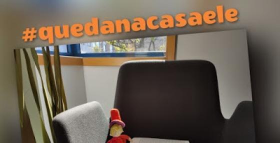 #QUEDANACASAELE