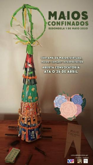 Maios confinados: Sinha Paca e a Concellaría de Cultura reciben a primaveira online