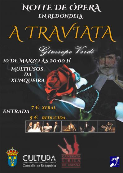 Ópera en Redondela: A Traviata
