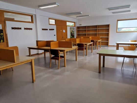 Apertura de la sala de estudio