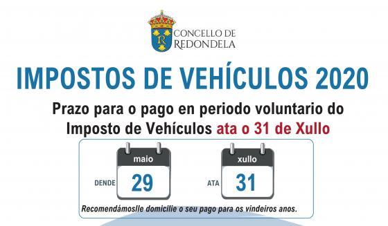 Imposto de vehículos 2020