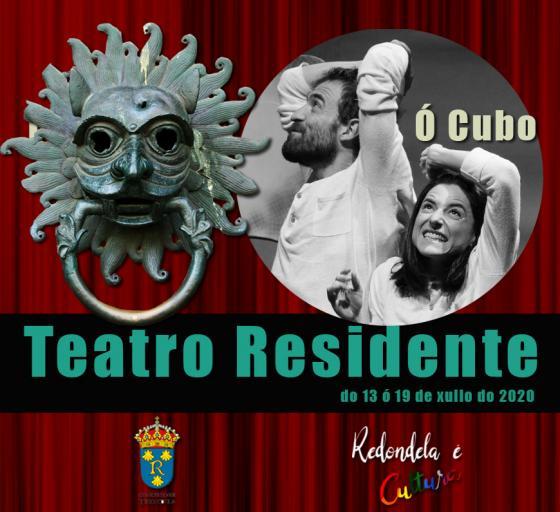 Teatro Ó Cubo, primeros artistas residentes en el Multiusos da Xunqueira