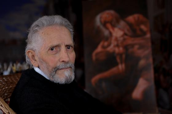 A pintura de Ángel Barros exporase en Redondela