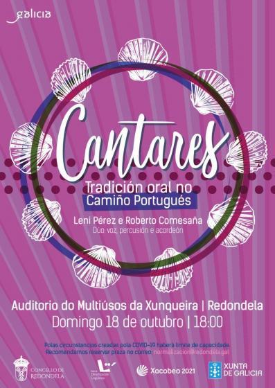 Cantares, Tradición Oral no Camiño Portugués