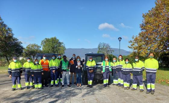 O Concello de Redondela recibe dous vehículos 4x4 do Fondo de Compensación ambiental da Xunta de Galicia