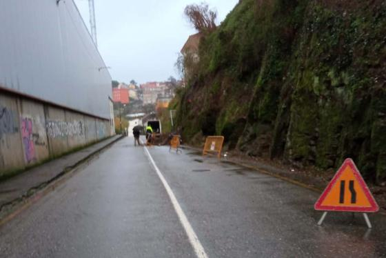 A Concellería de Vías e Obras repara os danos causados polos temporais nas parroquias do municipio