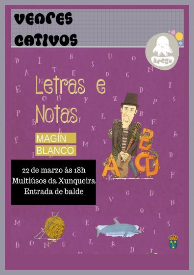 "Concerto infantil ""Letras e notas"""