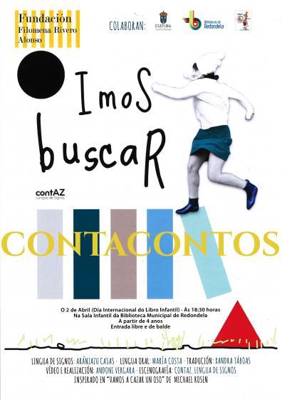 """""""IMOS BUSCAR..."""" Contacontos inclusivo para o Día do Libro Infantil"""