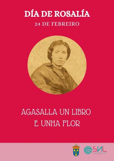 Día de Rosalía: UN LIBRO E UNHA FLOR