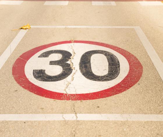Redondela limita a 30 Km/h a velocidade en todo o casco urbano
