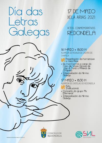 Chapela y Redondela homenajearán la  Xela Arias con actos en las alamedas Rosalía de Castro y Castelao