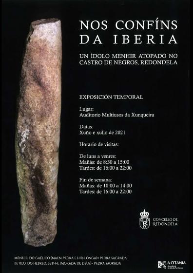 El  Multiúsos de la Xunqueira acoge, desde mañana, la exposición temporal del ídolo menhir encontrado en el castro de Negros