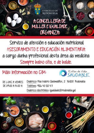 O CIM pon en marcha un servizo de atención e educación nutricional