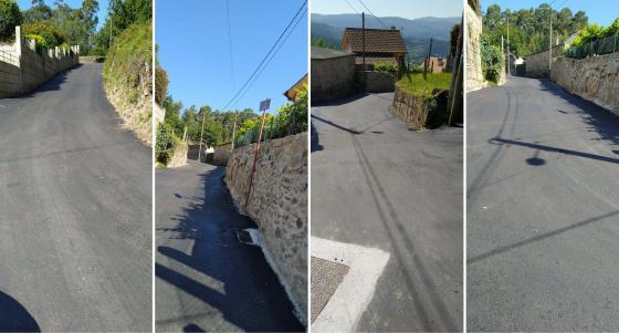El Ayuntamiento finaliza la mejora de los caminos del  Galleiro y La  Pelourenza en la parroquia del Viso