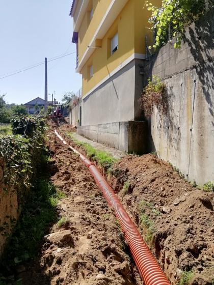 Redondela inicia as obras de canalización e iluminación do Camiño da Tafona