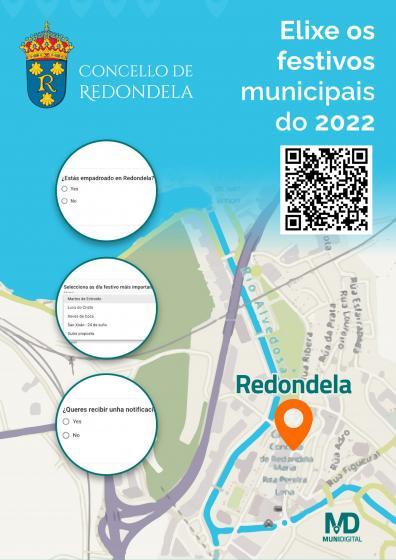Los vecinos de Redondela eligen los festivos locales de 2022