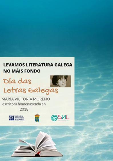 Día das letras galegas no comercio