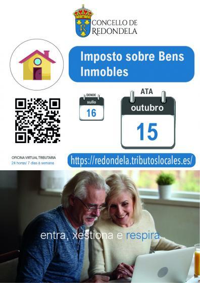 O 15 de outubro finaliza o período de pagamento voluntario dos recibos do IBI