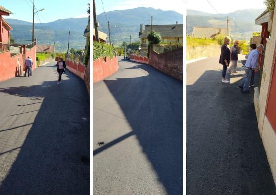 Rematados os traballos de mellora e adecuación do Camiño dos Quinteiros en San Estevo de Negros