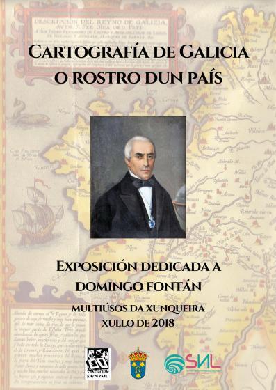 """Inaugurouse a exposición """"Cartografía de Galicia. O rostro dun país"""""""