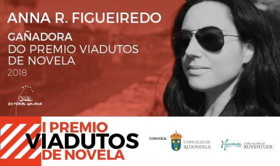 Anna R. Figueiredo gaña o I Premio Viadutos de Novela do Concello de Redondela