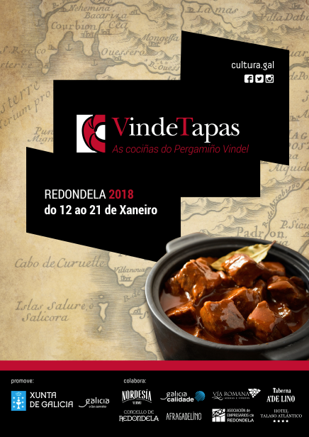 VINDE TAPAS: As cociñas do Pergamiño Vindel