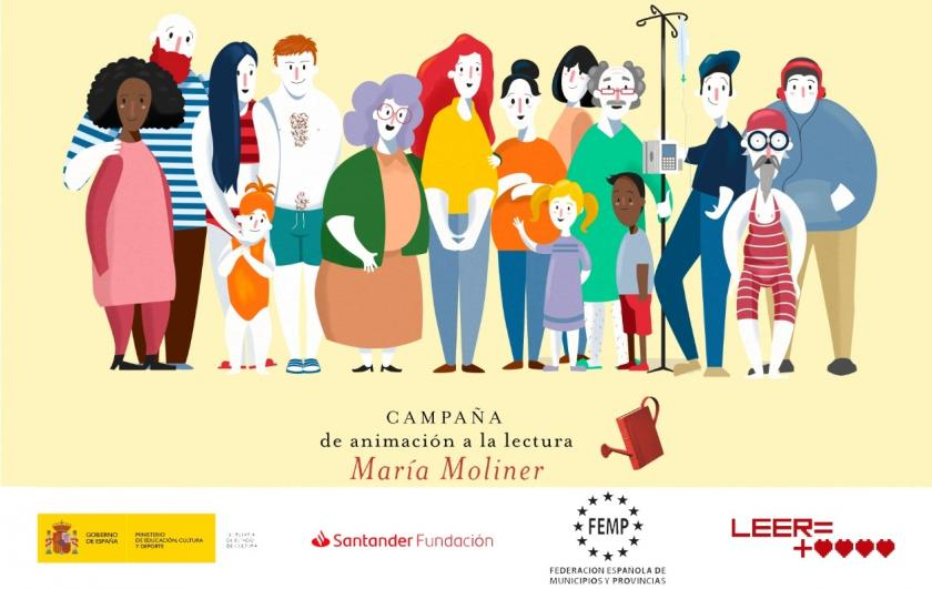 Campaña de celebración del 50 aniversario de las bibliotecas